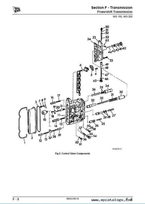 JCB Wheeled Loading Shovel 426 427 435 436 437 446 PDF