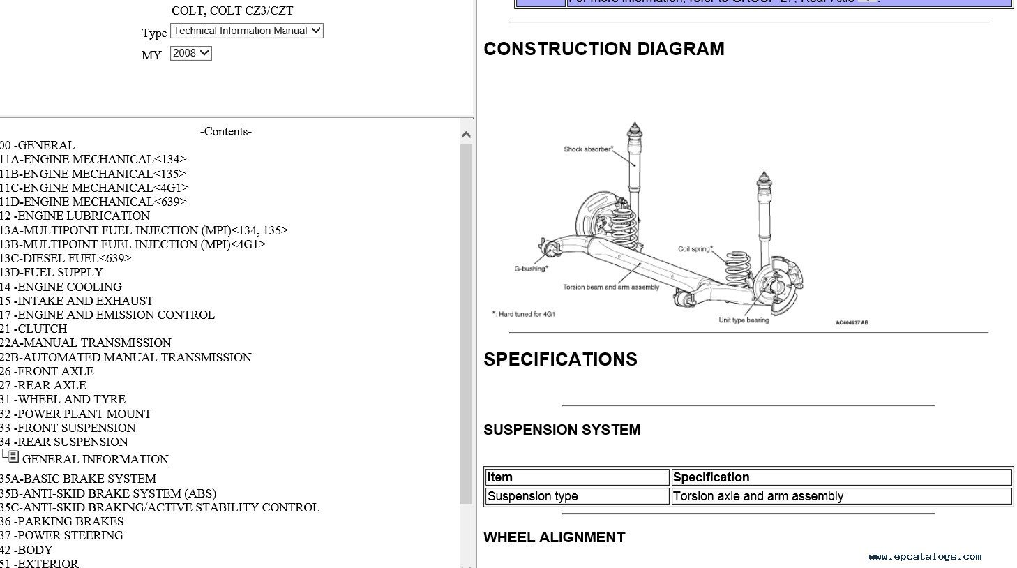 hight resolution of mitsubishi colt czt wiring diagram mitsubishi colt cz3 czt 2008rh epcatalogs