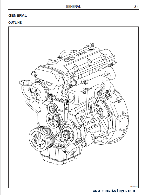 Download Hyundai Industrial Engine L4GC Model Shop Manual PDF