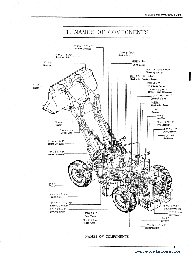 Kobelco LK500 Wheel Loader Download PDF Service Manual