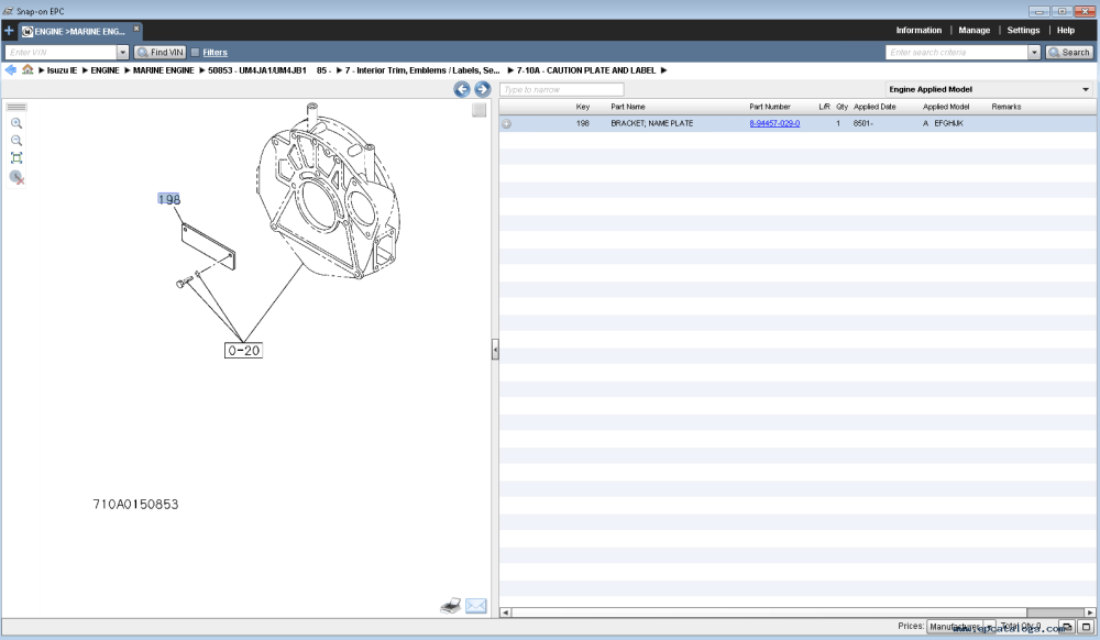 medium resolution of spare parts catalog isuzu worldwide industrial marine engines parts catalog 2015 4