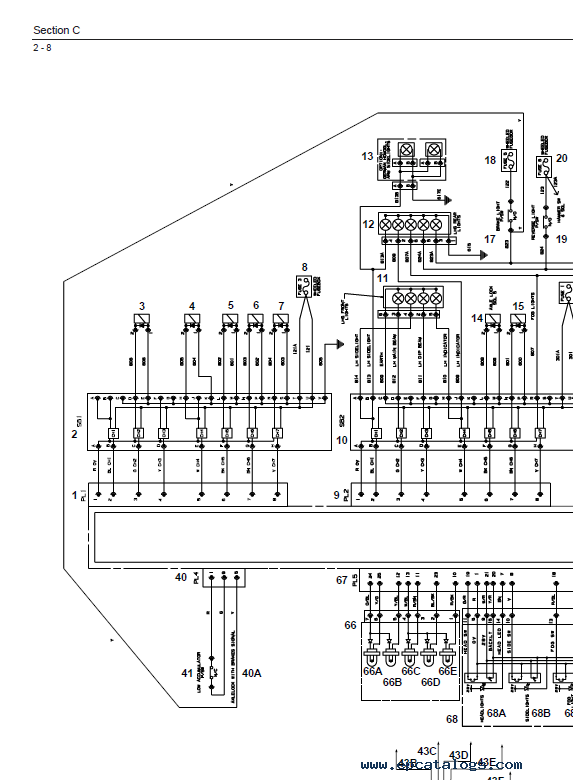 Download JCB Excavators JS130W JS145W JS160W JS175W Service