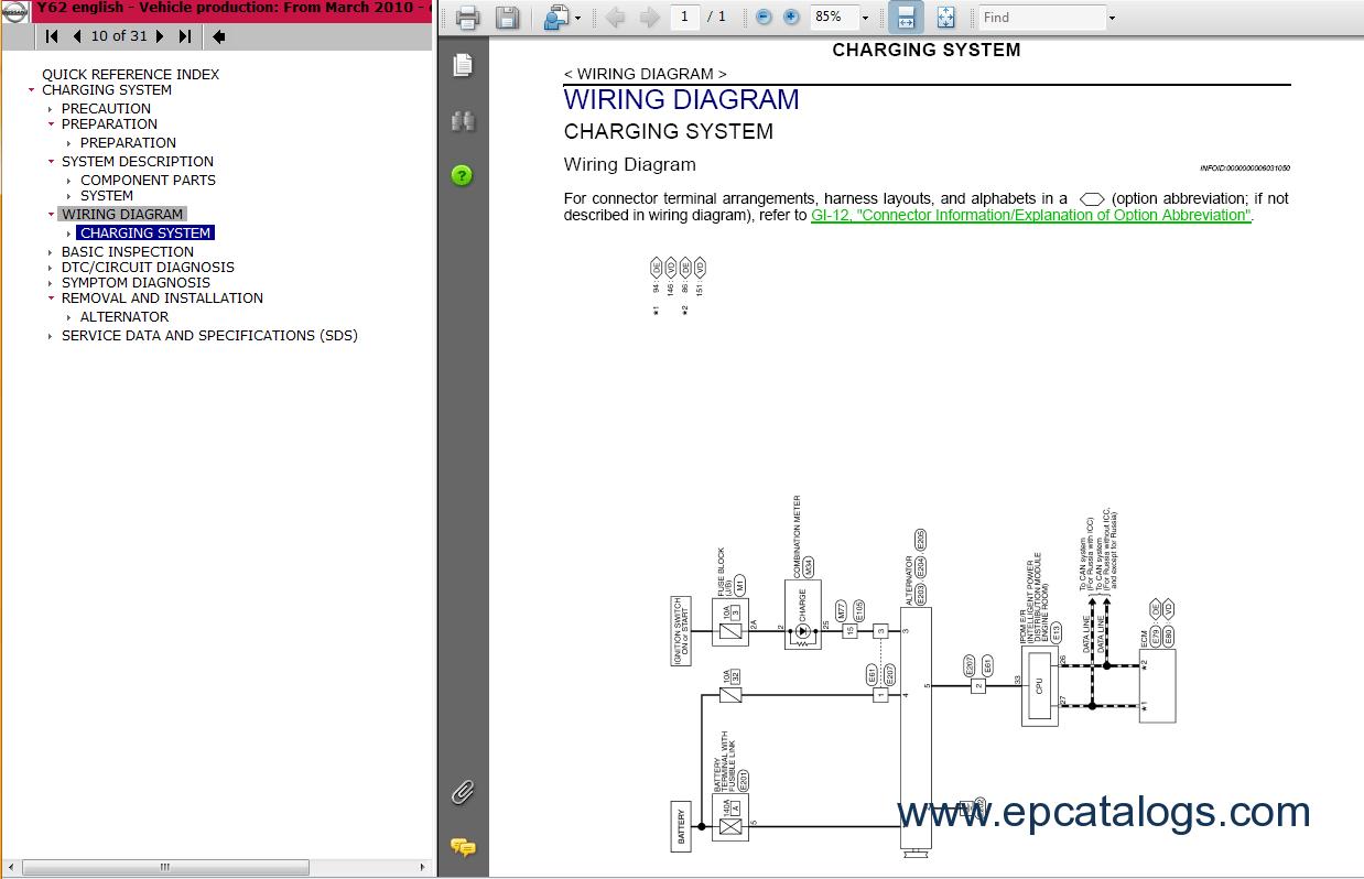 hight resolution of repair manual nissan patrol 2011 gr y62 3