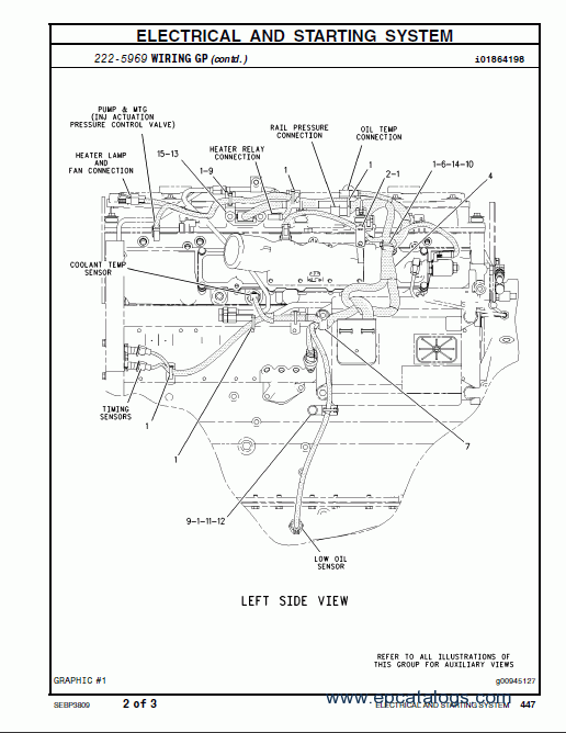 Diagram 2004 Cat 3126 Engine File Dx87503