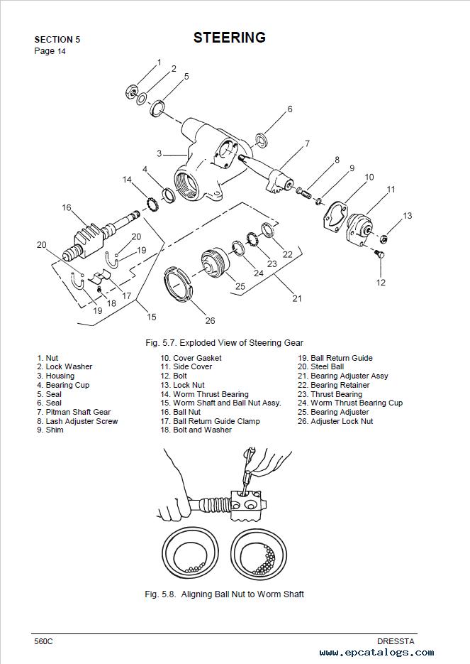 Komatsu Wheel Loader 560C Service Manual PDF Download
