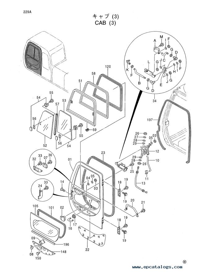 Hitachi EX-5 Series Hydraulic Excavators Set of PDF Manuals