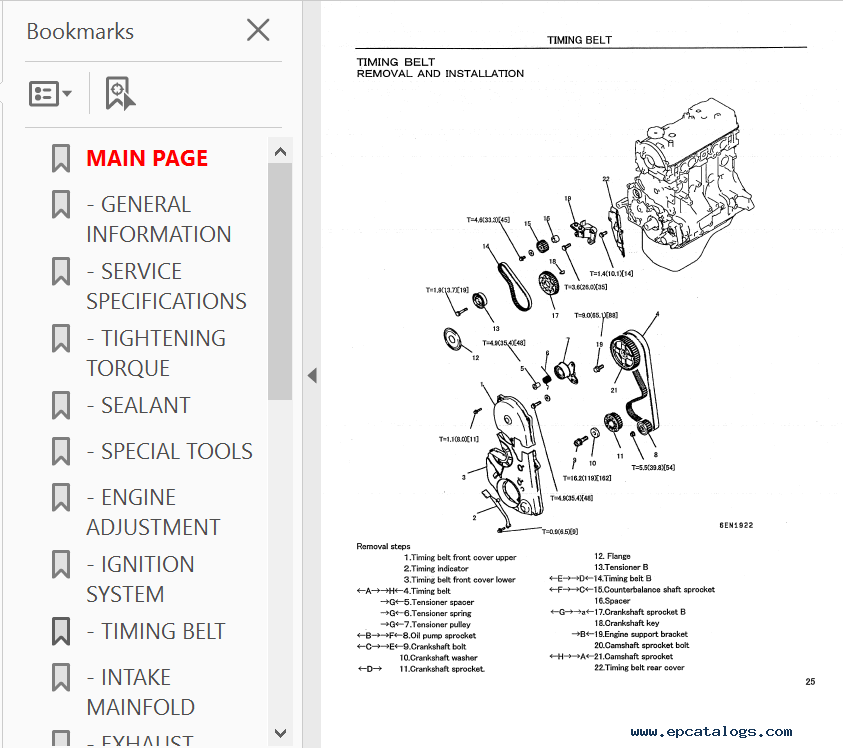 Download Mitsubishi Engine Base 4G63-32HL 4G64-33HL PDF