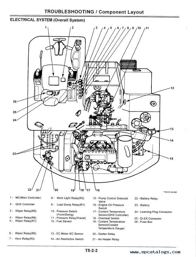 Hitachi Construction Equipment Engine Diagram