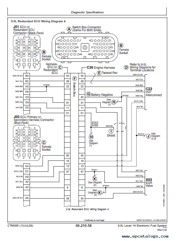 John Deere 9.0L Diesel Engines Level 14 CTM385 PDF