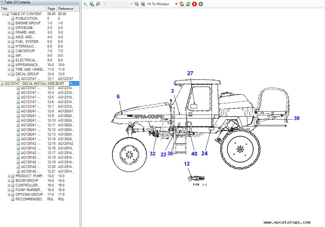 Spra-Coupe Spare Parts Catalog