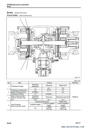Komatsu Wheel Loader WA2707 Shop Manuals PDF
