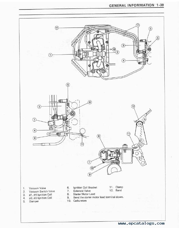 Kawasaki Ninja ZX-7RR/7R Motorcycle Service Manual PDF