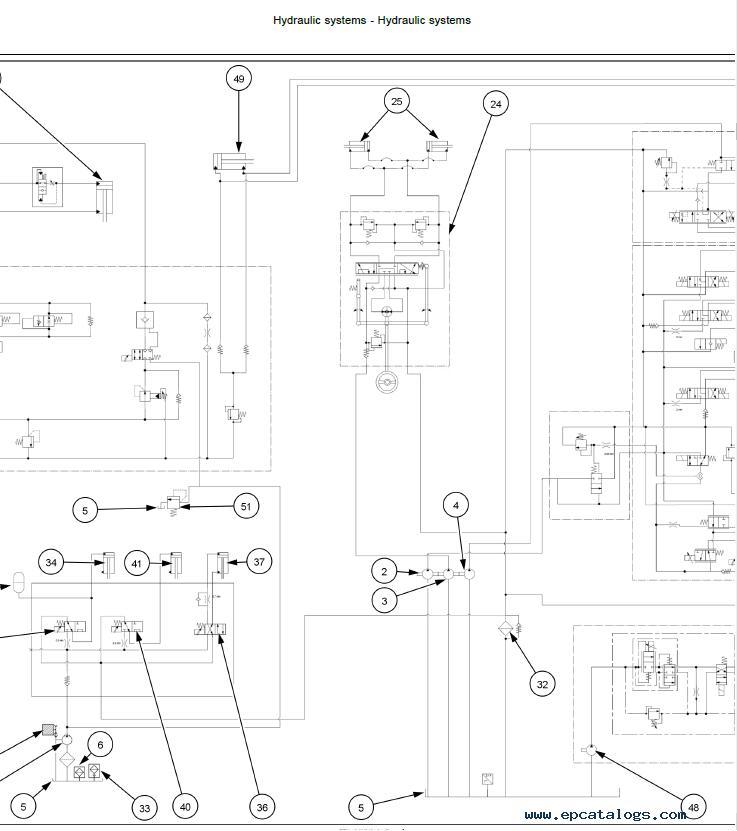 New Holland Combine CX5.80 CX5.9 CX6.80 CX6.90 Service Manual