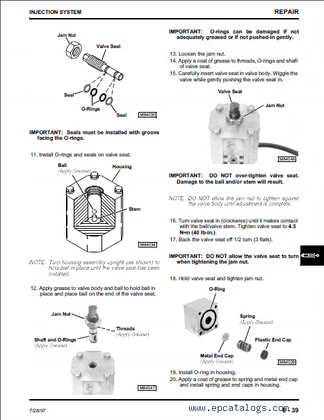 John Deere RZI 700 Root Zone Injection System TM1681 PDF
