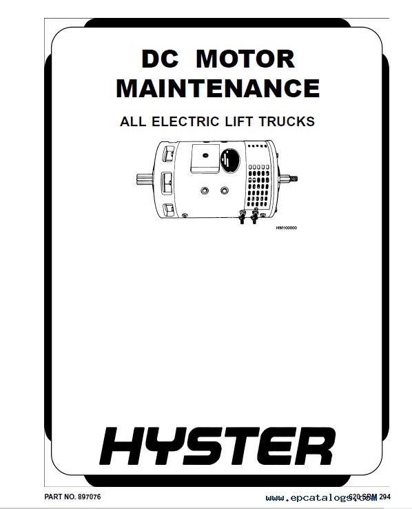 Hyster Class 1 A416 J2.00-3.20XM Europe Rider Trucks PDF