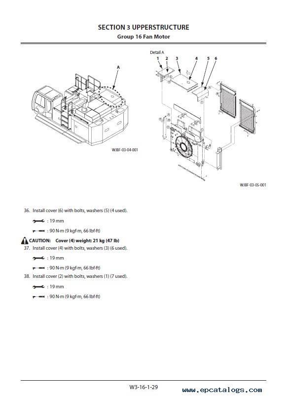 Hitachi Hydraulic Excavator ZX670LC/H/R-5G Workshop PDF
