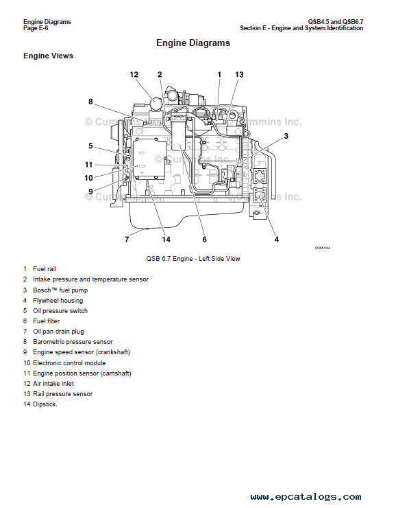 cummins engine parts diagrams pdf