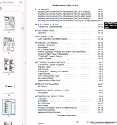 repair manual bobcat 331 331e 334 excavator operation maintenance manual pdf 2 [ 891 x 891 Pixel ]