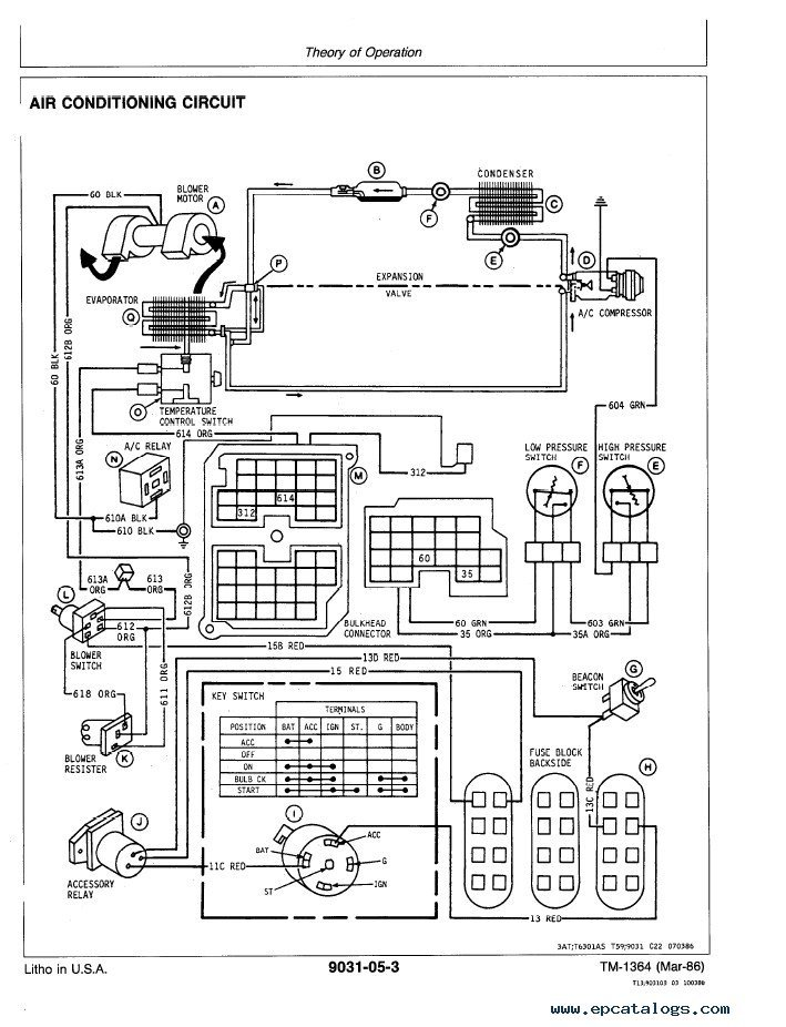 for a jd 410b wiring diagram