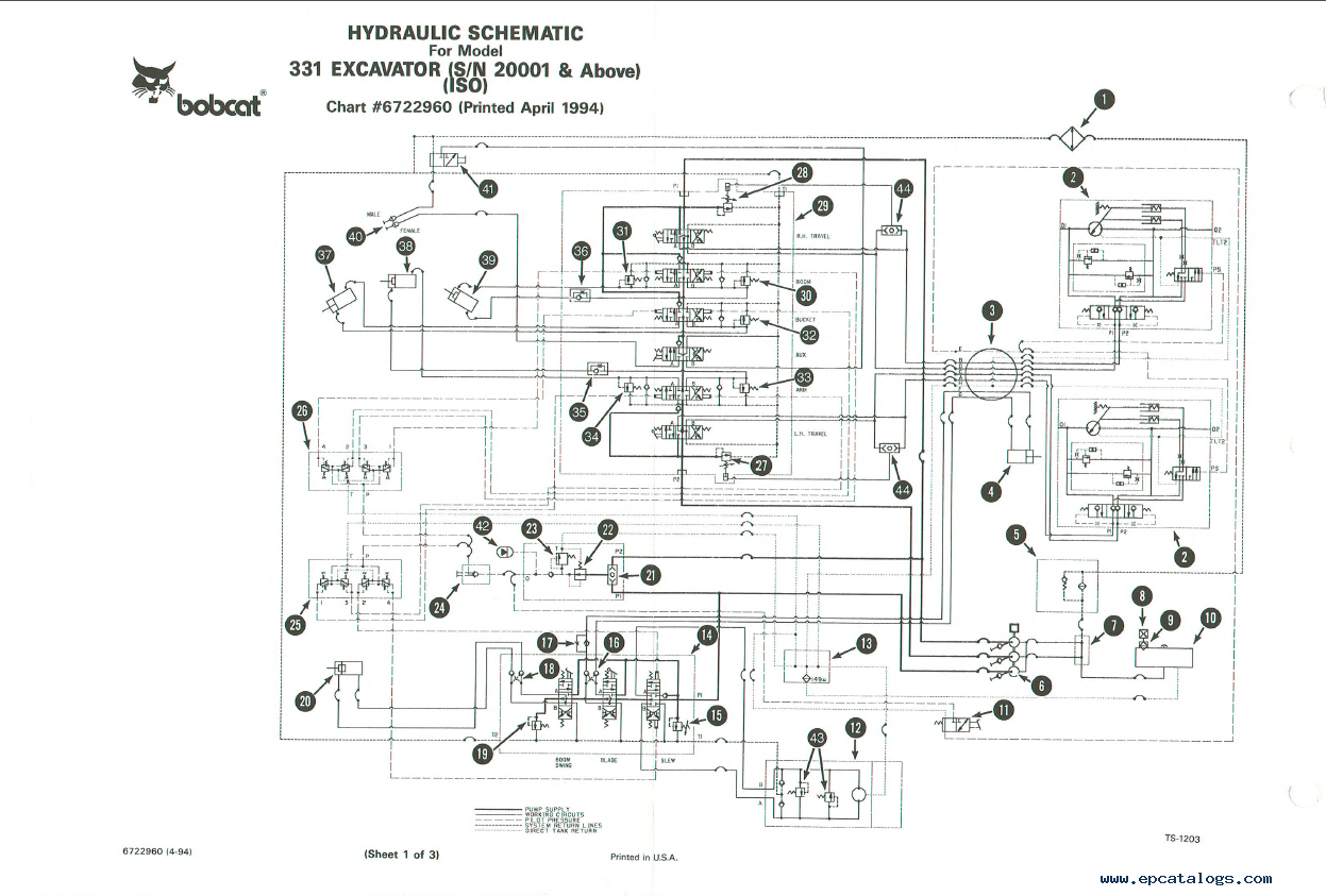 Bobcat S250 Wiring Diagram