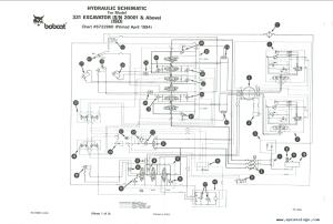 Bobcat X 331 Excavator Service Manual PDF, repair manual