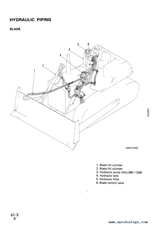 Komatsu Bulldozer D85A, E, P-21 Shop Manual Download
