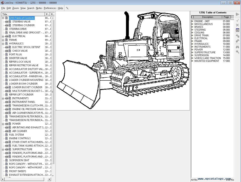 Komatsu Usa All Spare Parts Catalog Download