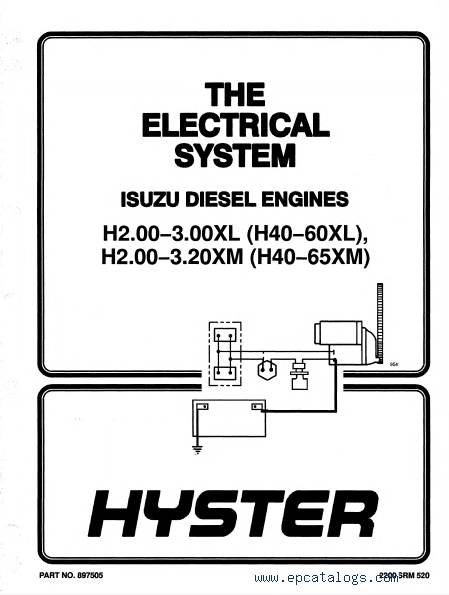 Hyster H50xm Wiring Diagram : 27 Wiring Diagram Images