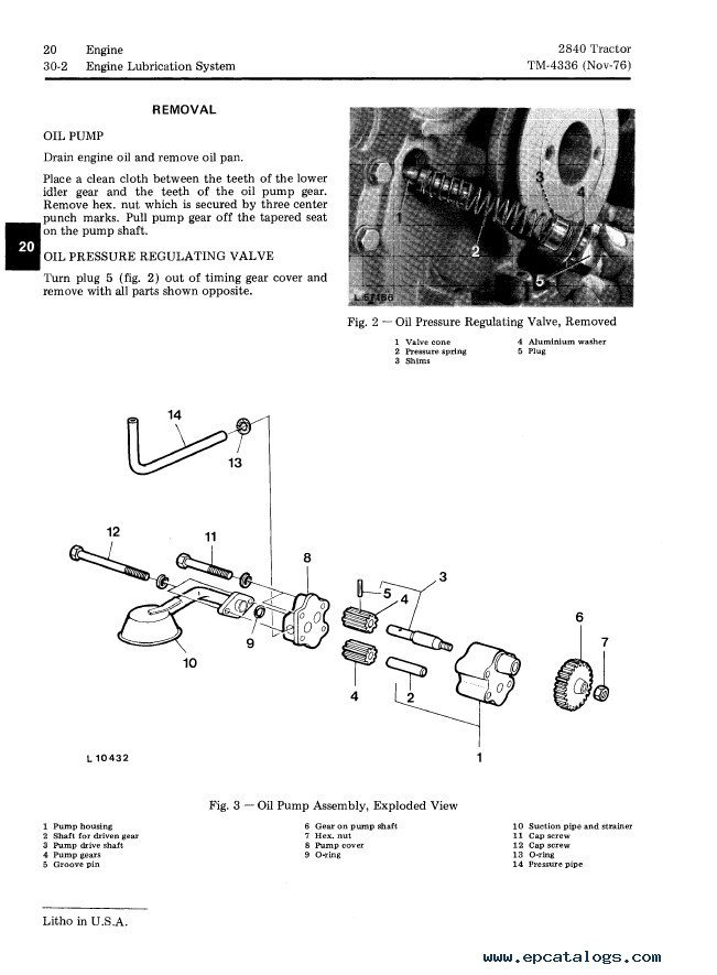 John Deere 2840 Tractor TM4336 Technical Manual PDF
