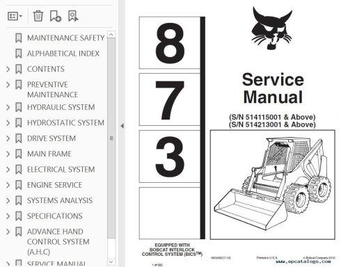 small resolution of bobcat skid steer service manual workshop repair manuals software jpg 1026x790 bobcat interlock control system wiring
