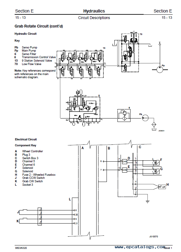 Download JCB Excavator JS200W Service Manual PDF