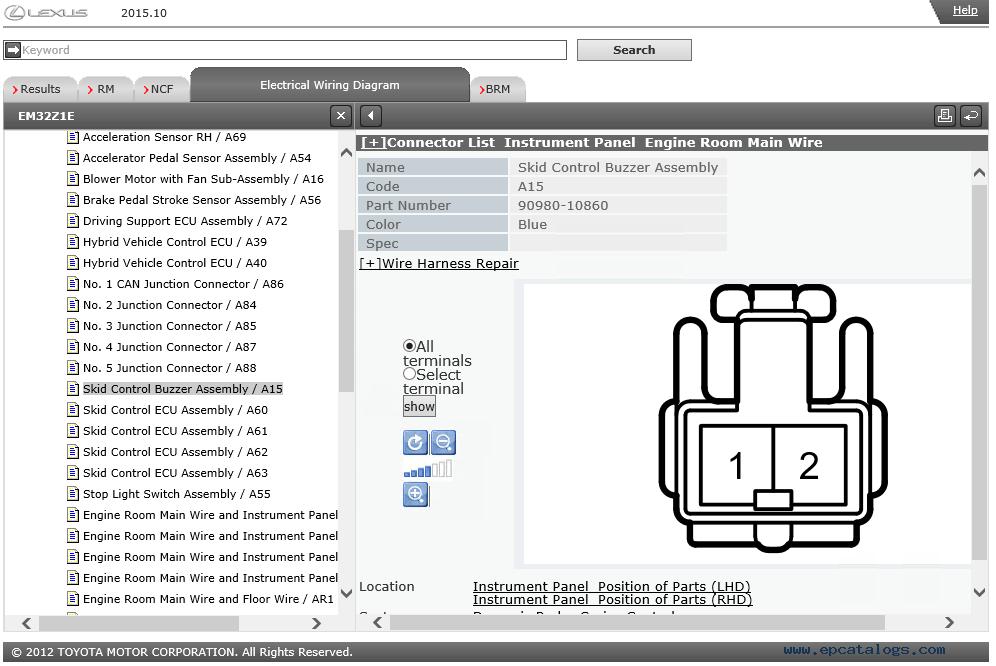 Lexus RX450h (GYL2) Service Information