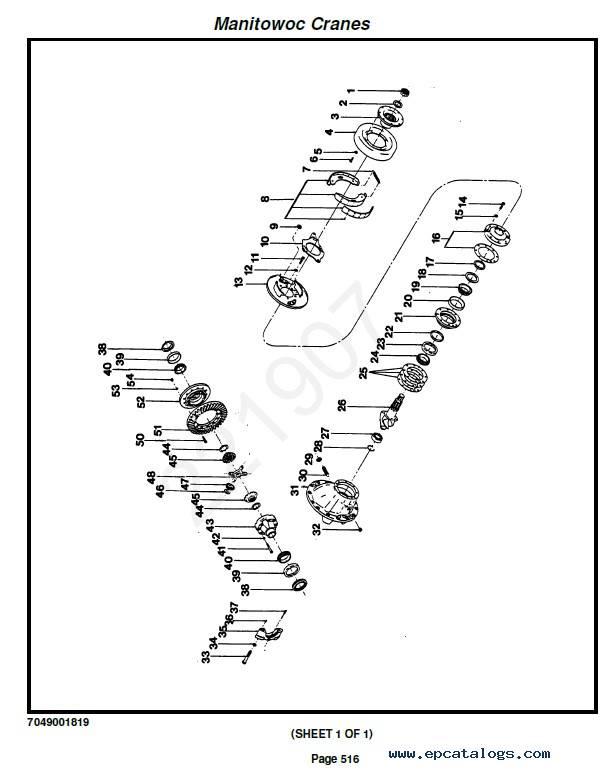 Download Grove Crane RT 58B Set of PDF Manuals