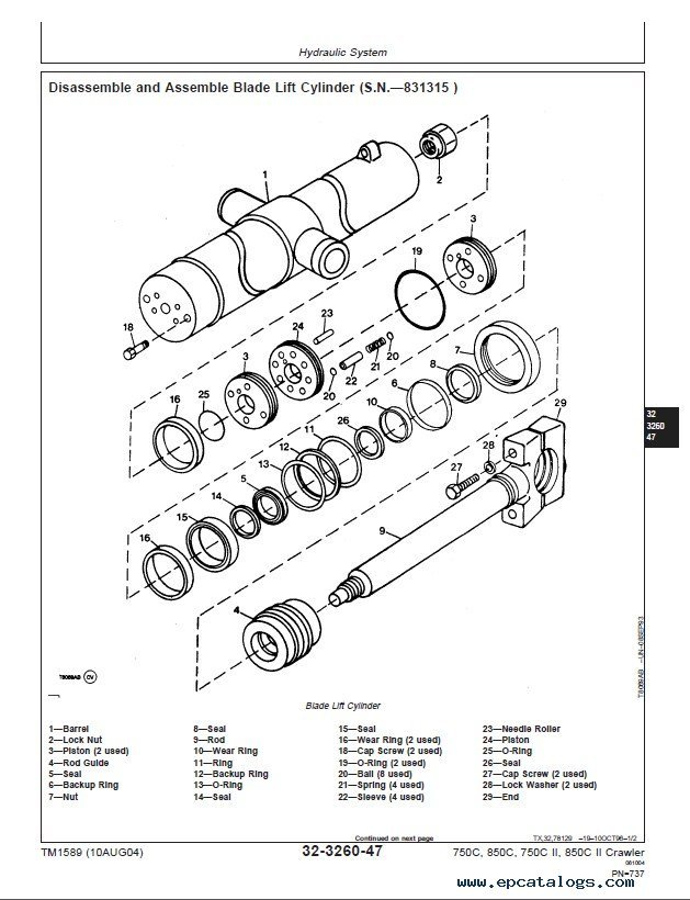 John Deere 650 750 Tractor Repair Manual Pdf