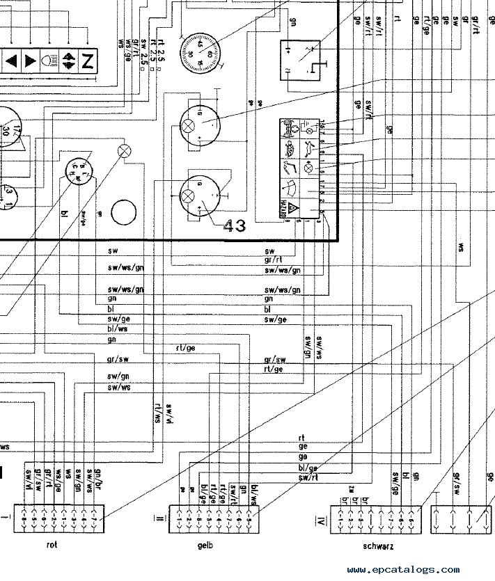 Terex HML 40 Series B Excavator Download Parts Catalog PDF