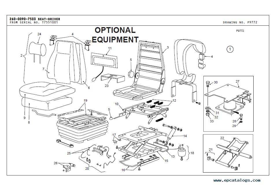 Terex 3360B Off-Highway Truck Parts Book PDF