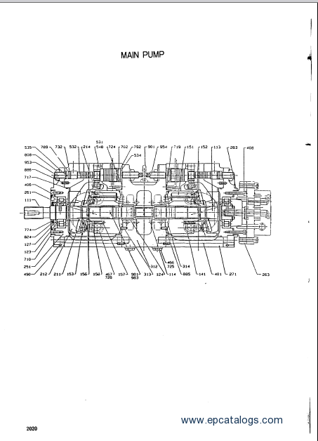 Hyundai Robex 1300 Spare Parts catalog Download