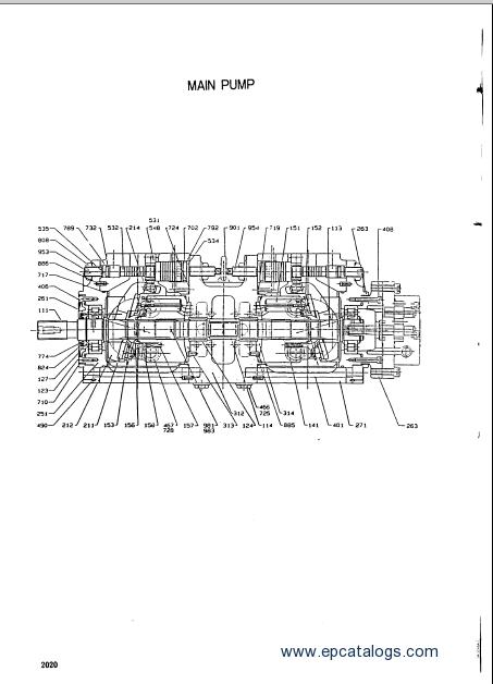 Hyundai Robex 1300 Spare Parts catalog Download