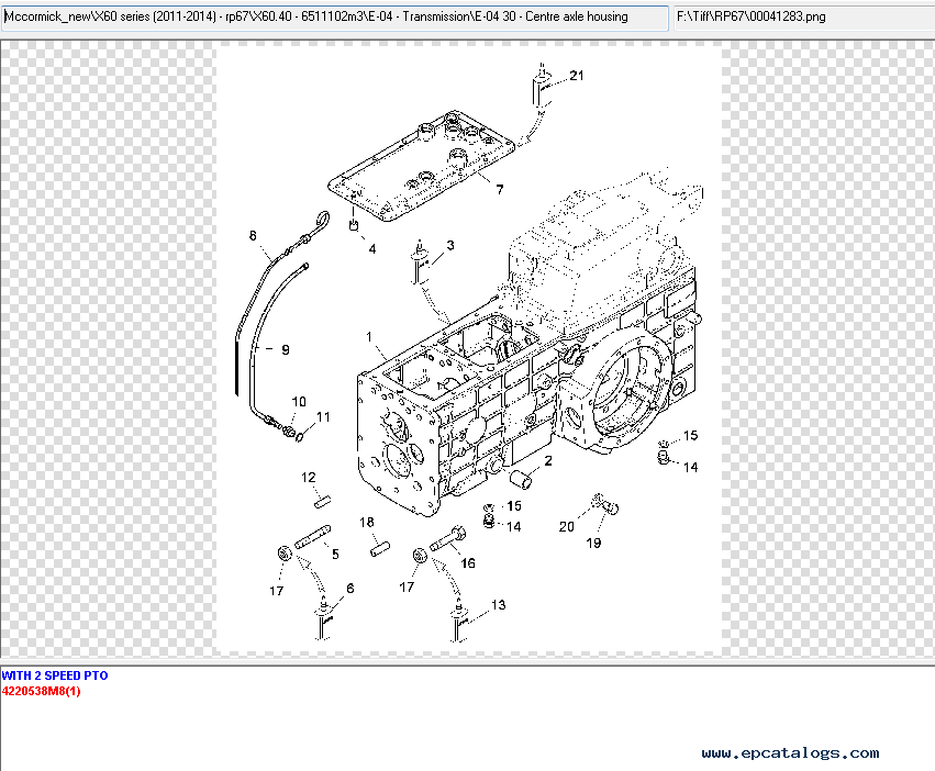 McCormick Newton 8.0 Spare Parts Catalog 2015 Download