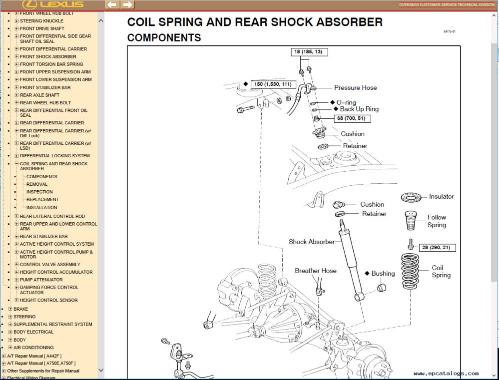 medium resolution of repair manual lexus lx470 pdf manual 1