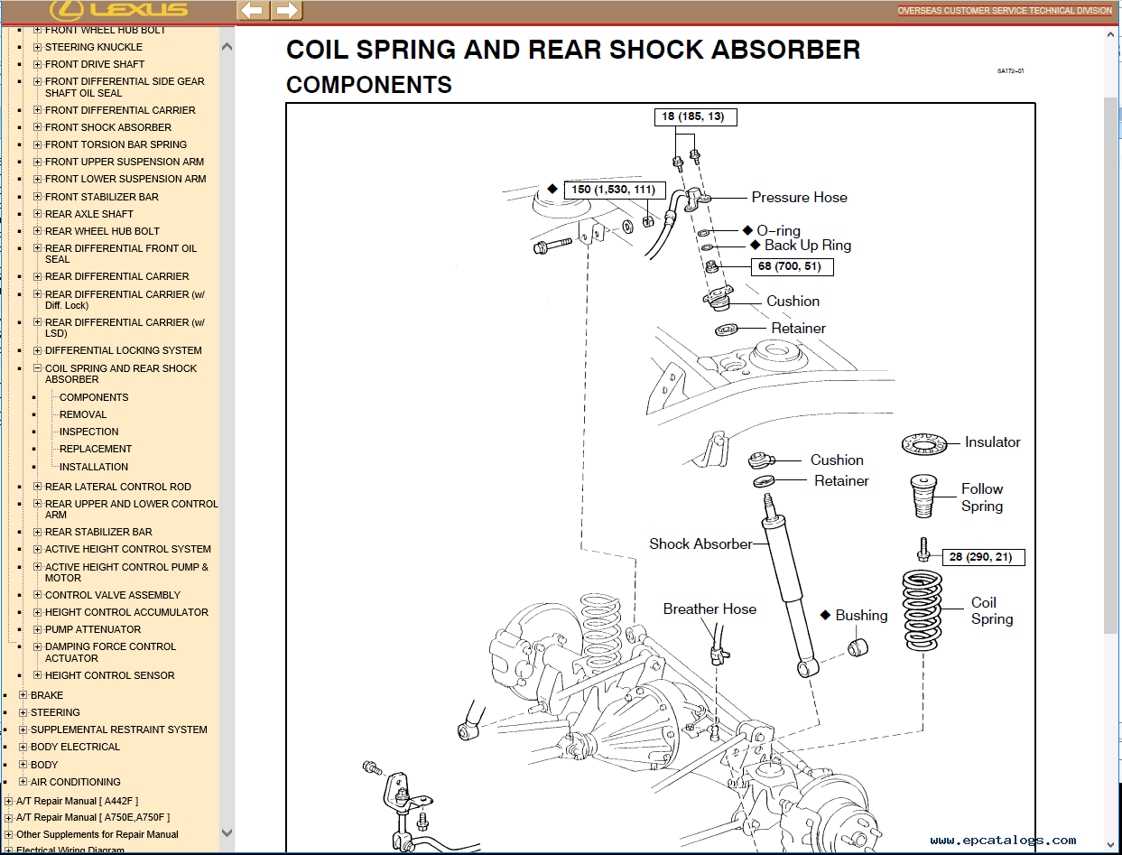 hight resolution of repair manual lexus lx470 pdf manual 1