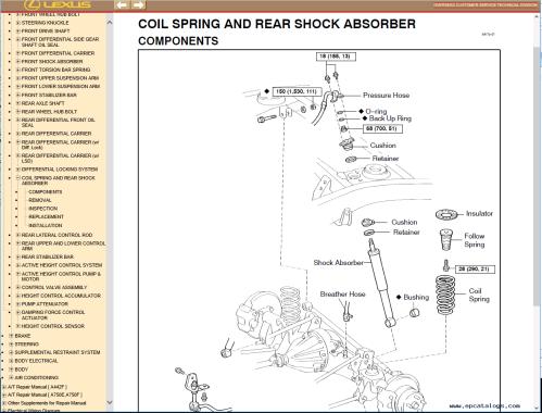 small resolution of repair manual lexus lx470 pdf manual 1