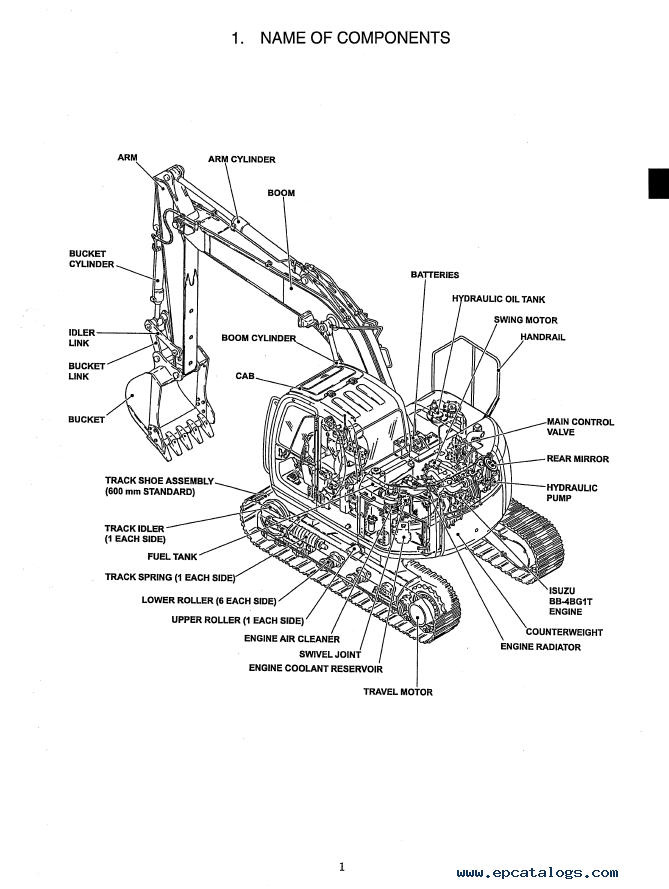 New Holland EH130 Crawler Excavator Service Manual PDF