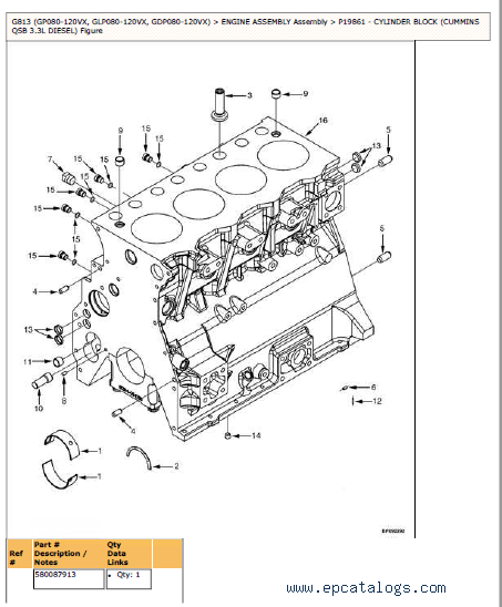 Yale G813 Trucks Parts and Service Information PDF