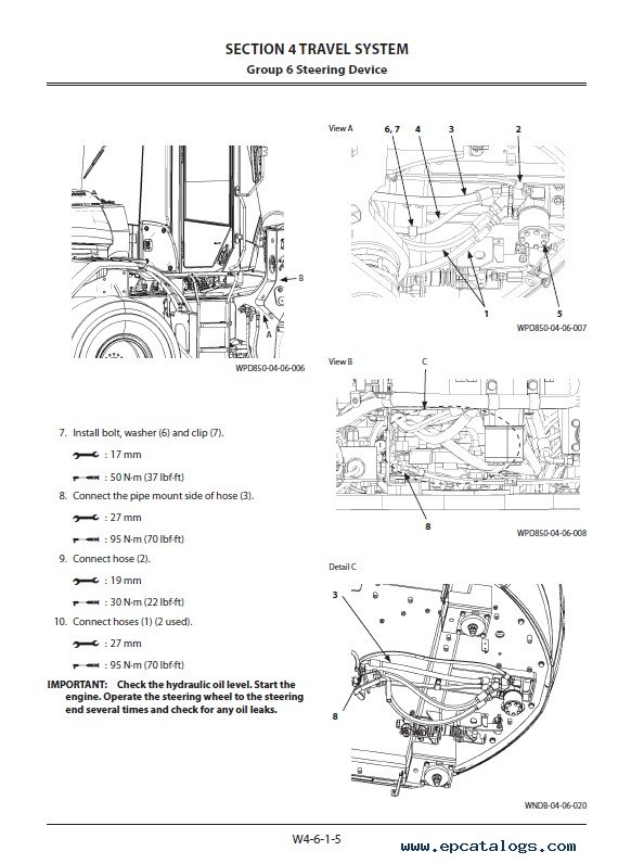 Download Hitachi Wheel Loader ZW180-6 Workshop Manual