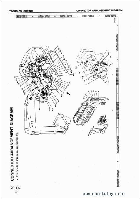 Komatsu Hydraulic Excavator PC340-6K, PC340LC-6K, PC340NLC