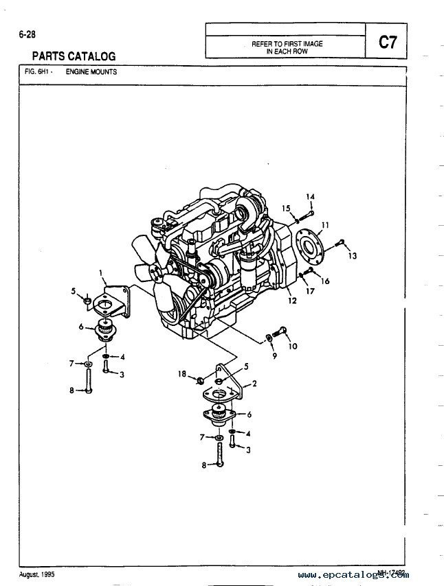 Allis Chalmers D17 Wiring Diagram, Allis, Free Engine