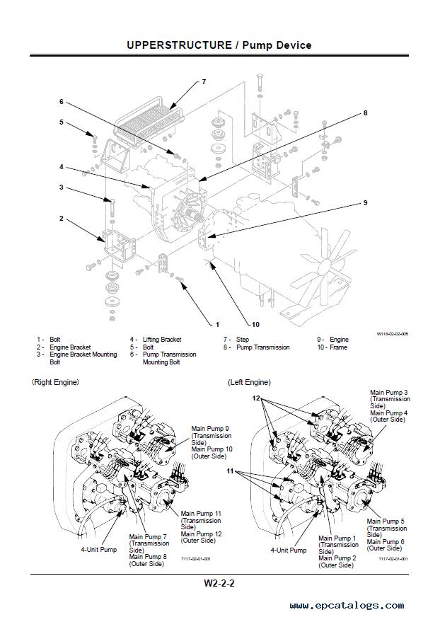 Hitachi EX100M-3 Excavator Workshop Manual W133-00 PDF