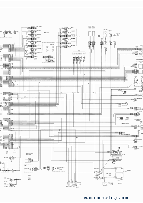 Komatsu Hydraulic Excavator PC210-7K, 210LC, 210NLC