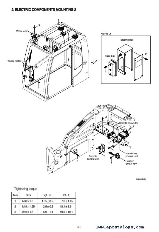 Hyundai R160LC-9A & R180LC-9A Excavator Service Manual